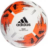 adidas - Team Top Replique Trainingsball white orange black iron met