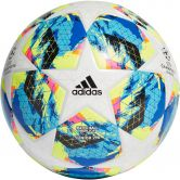 adidas - Finale 290 Top Training  Football Kids white bright cyan solar yellow shock pink