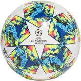 adidas - UCL Finale 19 Capitano Fußball white bright cyan solar yellow shock pink