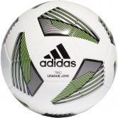 adidas - Tiro League Junior 290 Football white black silver metallic team solar green