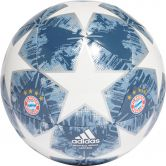 adidas - Finale 18 FC Bayern Capinato Fußball white silver met raw steel