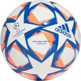 adidas - UCL Finale 20 Junior League 290 Football Kids white team royal blue signal coral sky tint