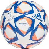 adidas - UCL Finale 20 Junior League 350 Football Kids white team royal blue signal coral sky tint