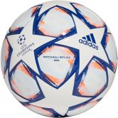 adidas - UCL Finale 20 Miniball white team royal blue signal coral sky tint