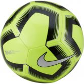 Nike - Pitch Train Soccer Ball volt black silver