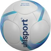 Uhlsport - Motion Synergy Football white deep blue cyan