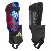adidas - X Reflex Shin Guards bold blue active red silver met