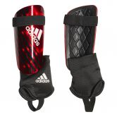 adidas - X Reflex Shin Guards active red black off white