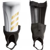 adidas - Predator 20 Match Shin Guards white gold metallic black