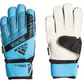 adidas - Predator Top Training Fingersave Goalkeeper Gloves Kids bright cyan black