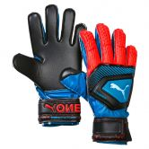 Puma - One Protect 3 Jr. Goalkeeper Gloves Kids bleu azur red blast puma black