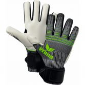 Erima - Flexinator Ultra Knit Goalkeeper Gloves dark grey green gecko