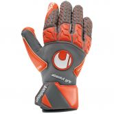 Uhlsport - Aerored Absolutgrip Reflex Torwarthandschuhe dark grey fluo red white
