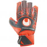 Uhlsport - Aerored Soft SF Junior Goalkeeper Gloves Kids dark grey fluo red white