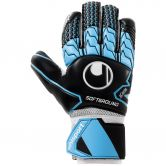 Uhlsport - Soft HN Comp Torwarthandschuhe black sky blue white