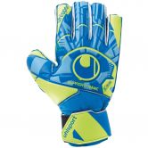 Uhlsport - Radar Control Soft Torwarthandschuh Junior radar blau fluo gelb schwarz