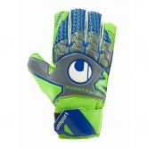 Uhlsport - Tensiongreen Soft SF Junior Goalkeeper Gloves Kids dark grey fluo green navy