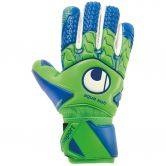 Uhlsport - Aquasoft HN Windbreaker Goalkeeper Gloves fluo green pacific blue white