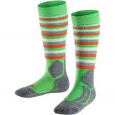 Falke - SK2 Stripe Skisocken Kinder vivid green