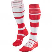 Falke - SK4 Stripe Skiing Socks Women scarlet