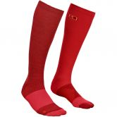 ORTOVOX - Socks Tour Light Compression Women dark blood