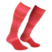 ORTOVOX - Ski Stay Or Go Socks Skisocken Damen hot coral