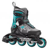 Rollerblade - Maxx G Skates Kinder grau türkis