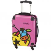 Check.In - Trolley Kuh Familie 29 Liter pink
