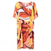Seafolly - Cut Copy Kaftan Damen tangelo