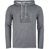 Chillaz - Mello Lettering Bus Hoodie Men anthrazit melange