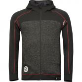 Chillaz - Lake Placid Fleecejacke Herren black grey melange