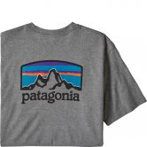 Patagonia - Fitz Roy Horizons Responsibility T-Shirt Men gravel heather