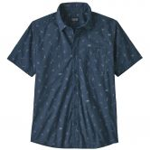 Patagonia - Go To Shortsleeved Shirt Herren sufers stone blue