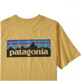 Patagonia - P-6 Logo Responsibility T-Shirt Men surfboard yellow