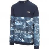 Picture - Molson Crew Sweater Men dark blue