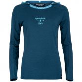 Chillaz - Bergamo Mountain Love Longsleeve Women dark blue