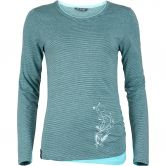 Chillaz - Fancy Stripes Longsleeve Damen light blue