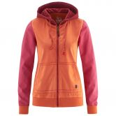Red Chili - Bege II Kapuzenjacke Damen koi orange