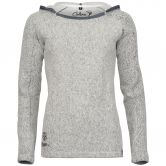Chillaz - Bergamo Ornament Logo Hoody Women grey melange