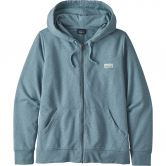 Patagonia - Pastel P-6 Label Ahnya Full-Zip Hoody Damen berlin blue