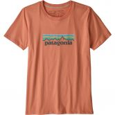 Patagonia - Pastel P-6 Logo Organic Crew T-Shirt Women mellow melon