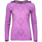 Chillaz - Bergamo Ornament Hoody Women magenta washed