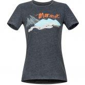 Marmot - Esterel T-Shirt Damen charcoal heather