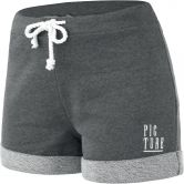 Picture - Aelo Shorts Damen dark grey melange
