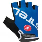 Castelli - Tempo V Gloves Unisex surf blue white
