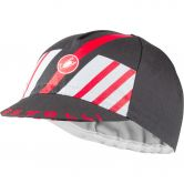 Castelli - Hors Categorie Cap Unisex dark gray silver gray red
