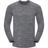 Odlo - Millenium Yakwarm Midlayer Men silver grey
