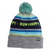Brooks - Booster Pom Beanie Unisex heather sterling