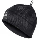 Odlo - Polyknit Warm Hat Unisex black reflective graphic