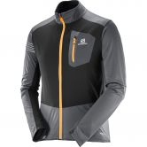 Salomon - RS Softshell Jacke Herren forged iron black